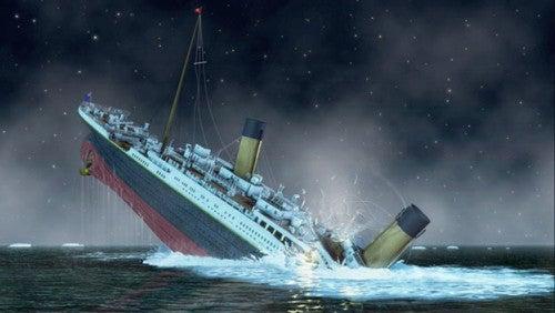 Титаник и Вайолетт Джессоп