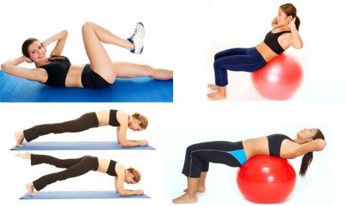 Кислотность и упражнения