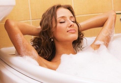 Ванна и пероксид водорода