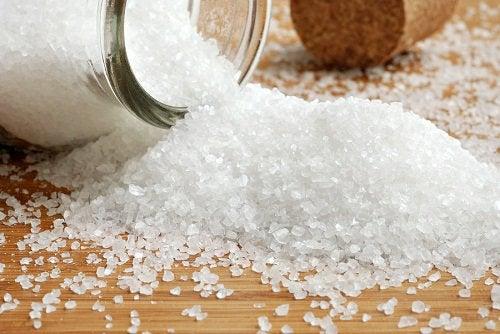 Остановить мигрень солью