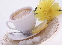 Чай из лимонной кожуры