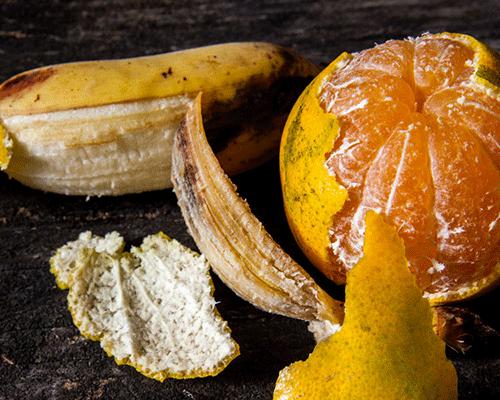 Никогда не выбрасывайте кожуру от апельсинов и бананов!