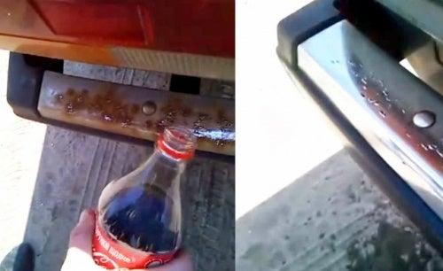 Кока-кола и ржавчина