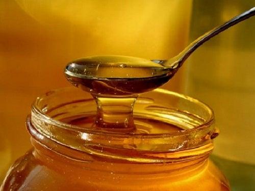 Мед чтобы отбелить подмышки