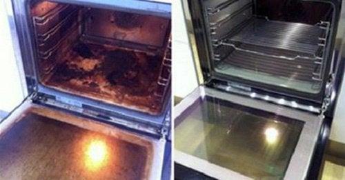 Очистить духовку