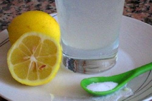 Сода и лимон для печени