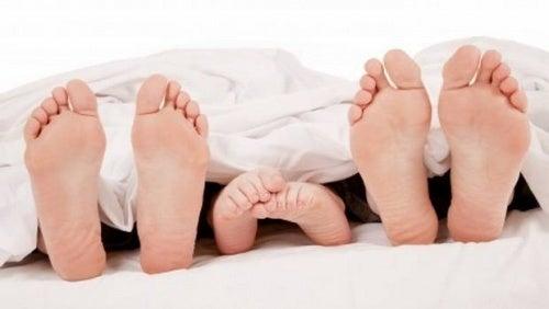 Сон ноги