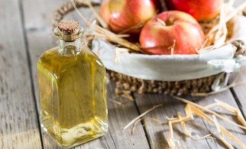 Яблочный уксус и домашний лосьон для кожи