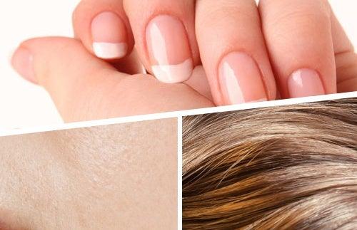 Смузи для здоровья волос, ногтей и кожи