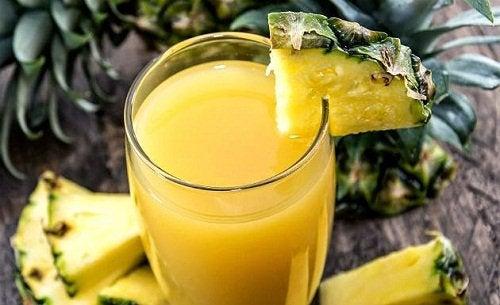 Диета и ананасовый сок