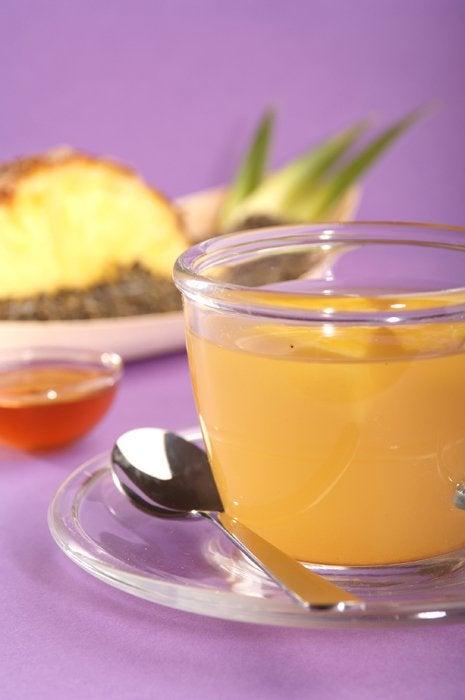 Коктейль из ананаса поможет убрать целлюлит