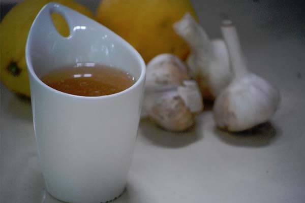 Чай из чеснока для лечения гипертонии