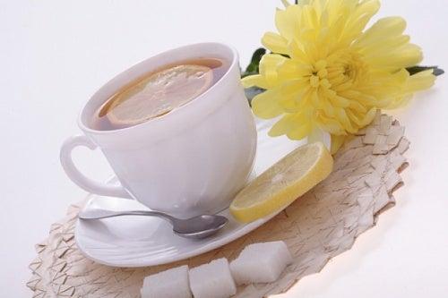 Чай с лимоном и детоксикация организма