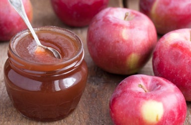 Домашнее средство с яблоками