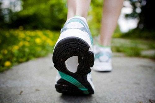 Ходьба и упражнения на растяжку