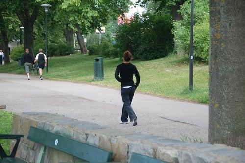 Ходьба в парке