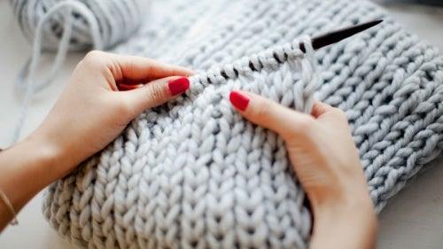 Вязание полезно для мозга