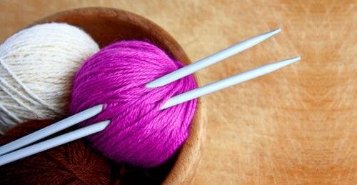 Вязание будет полезно, если у вас стресс