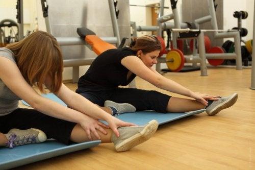 Упражнения активируют метаболизм