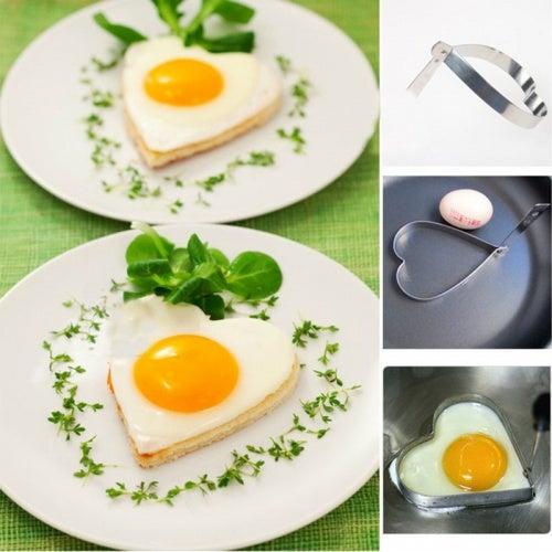 Формочки для яиц в виде сердечка