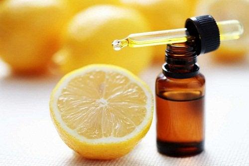 эфирное масло лимона и сосудистая сеточка