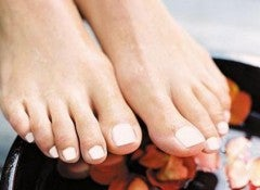 Натуральные масла для ног