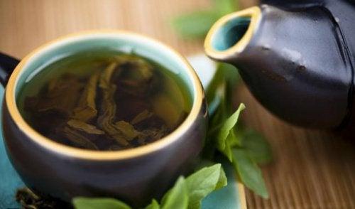Очистить организм зеленым чаем