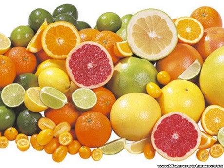 Цитрусовые фрукты помогут убрать лишний жир