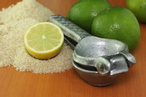 Скраб из лимона