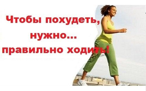 Чтобы похудеть, нужно… больше ходить!