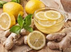 Имбирь и лимон активируют метаболизм