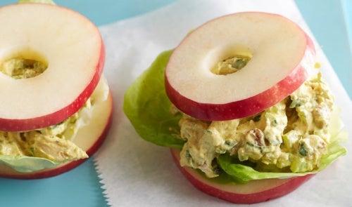 Сэндвич из яблока