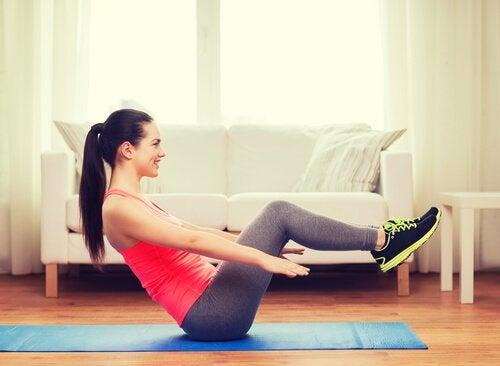 Стройный живот и физические упражнения