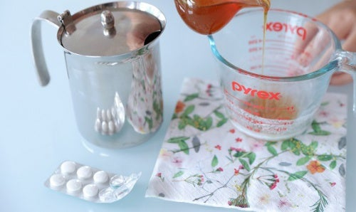 Пилинг для лица из аспирина