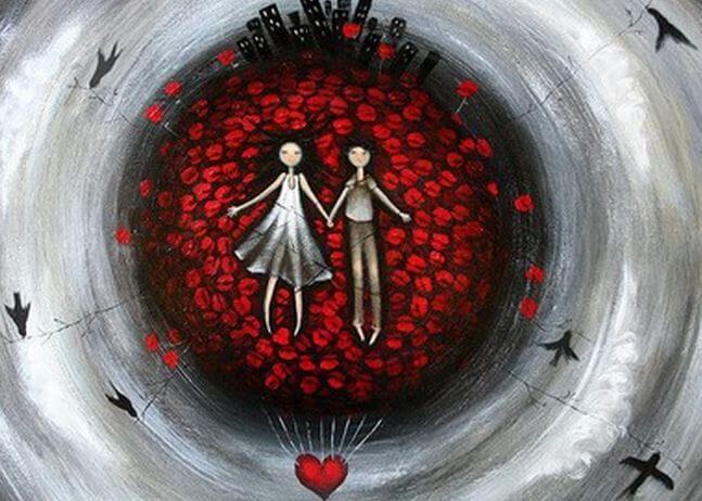 Красная нить и легенда о любви