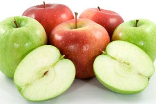 Яблоки очистят печень