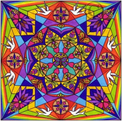 Цветная мандала