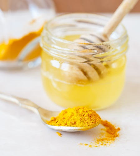 Куркума и мед