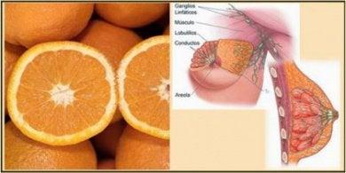 Апельсин и молочные железы