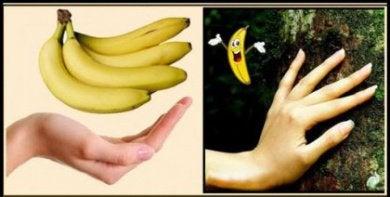 Банан и руки