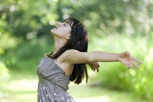 Глубокое дыхание поможет снять нервное напряжение