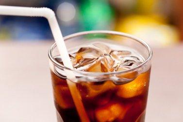 coca-cola со льдом