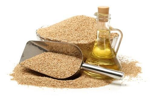 Кунжутное масло и полезные жиры