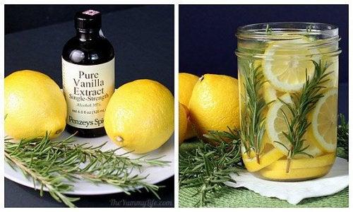 Ароматизатор из лимона