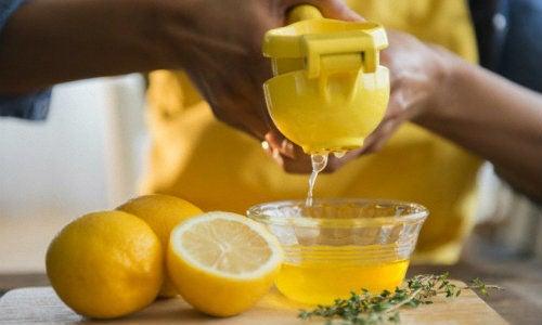 Лимон и нежелательные волосы