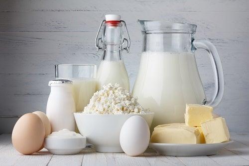 Кальций в молочных продуктах замедляет старение