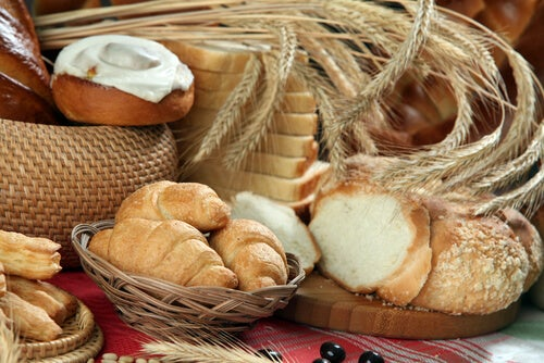 Пшеница увеличивает слизь в дыхательных путях