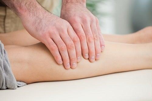 Судороги мышц и массаж