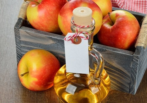 Яблочный уксус снимет напряжение в шее