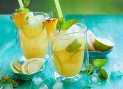 Лимон и ананас нормализуют pH баланс
